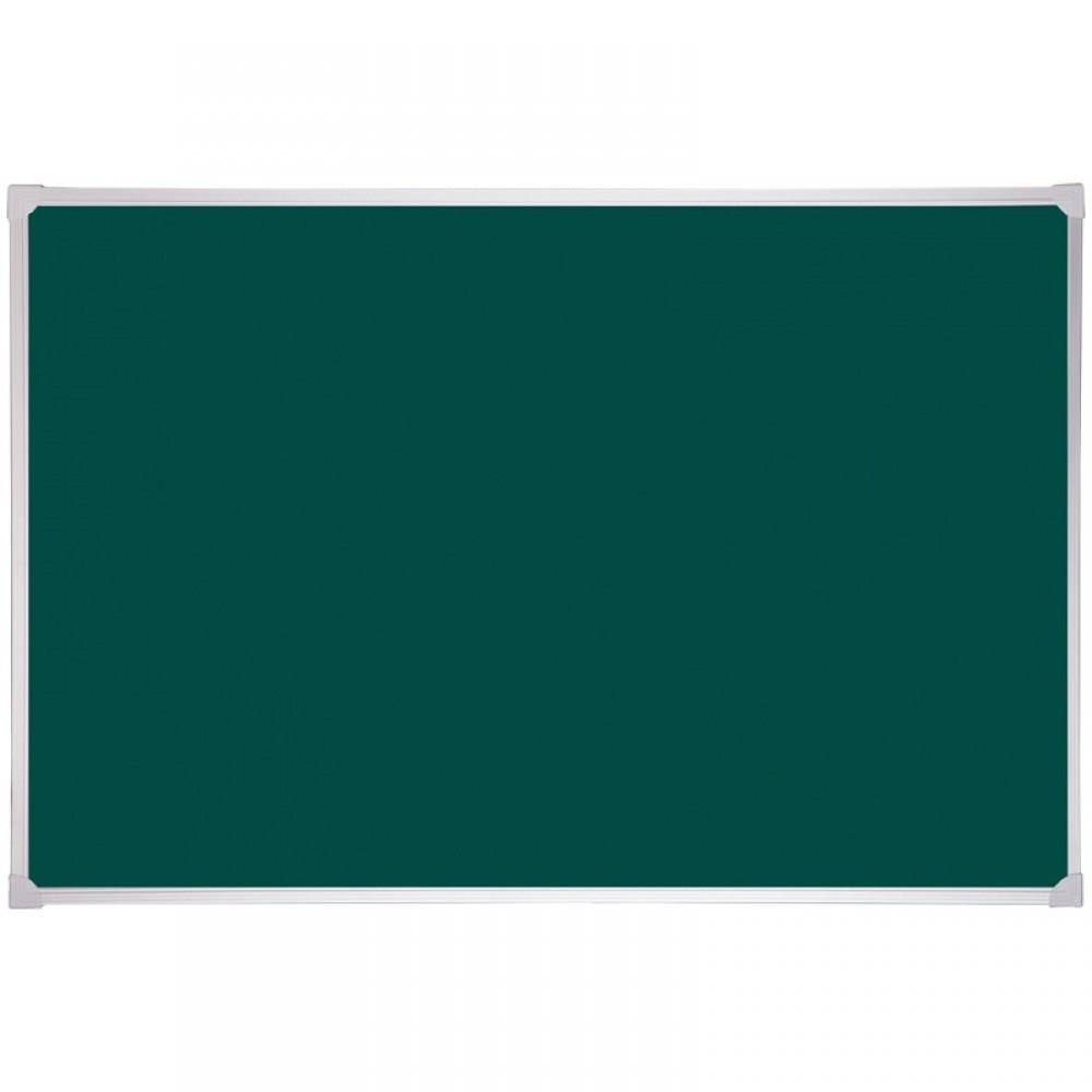 Доска магнитно-меловая OfficeSpace, 90*60см, алюминиевая рамка, полочка