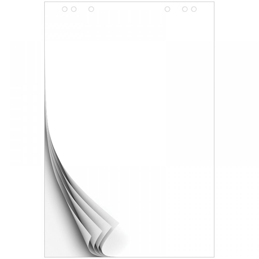 Блокнот для флипчарта OfficeSpace 60*90см, 20л., белый, бюджет
