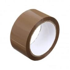 Клейкая лента упаковочная 48мм*66м, 40мкм, коричневая