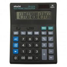 Калькулятор настольный Attache Economy 16 разр, чёрный
