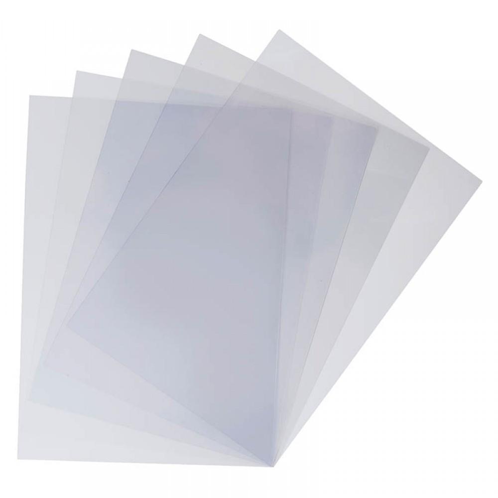 Обложка для переплета, А3, 200мкм, прозрачная, ПВХ, 100л
