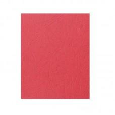 Обложка для переплета A3 картон 230 г/м2, красный, 100 шт,