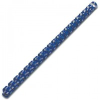 Пластиковый элемент пружина для переплета 12 мм синий, 1 шт