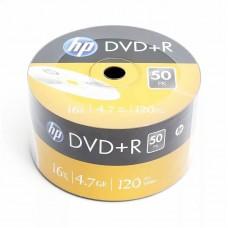 Диск DVD-R HP 4,7Gb 16x, в плёнке, 50шт