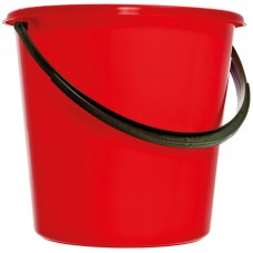Ведро пластиковое, пищевое OfficeClean, 5л, красное