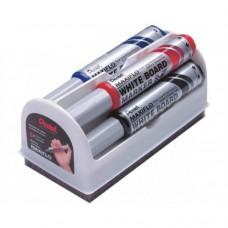 Набор маркеров Maxiflo Pentel 4 штуки со щеткой, ассорти