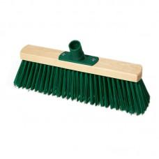 Щетка для уборки техническая York, ширина 30см, щетина 7,5см, деревянная, еврорезьба
