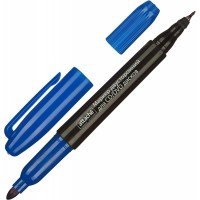 Маркер для CD синий двусторонний 0,7-1,0мм