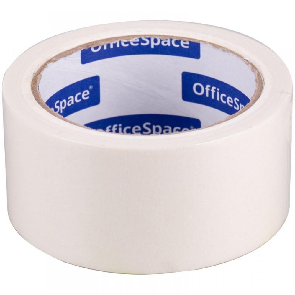 Клейкая лента малярная OfficeSpace, 48мм*24м, ШК