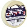 Клейкая лента малярная Unibob, 25мм*50м, инд.упаковка