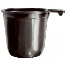 Чашки одноразовые для кофе OfficeClean, 200мл, 50шт/уп, коричневые