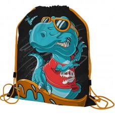 Мешок для обуви малый Seventeen Динозавр на серфе