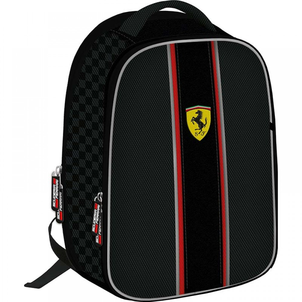 Рюкзак Ferrari с EVA панелью с двумя отделениями на молнии