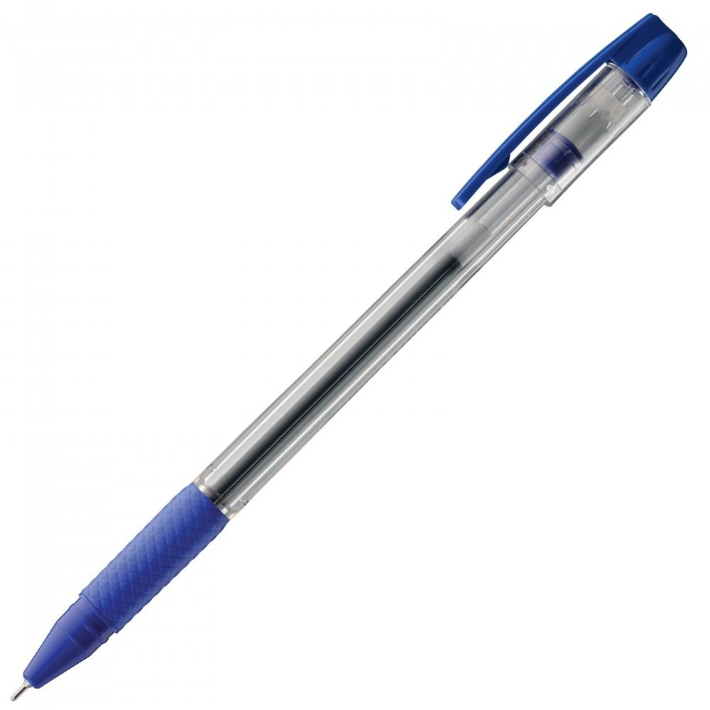 Ручка гелевая Luxor Tru Gel синяя 0,7 мм