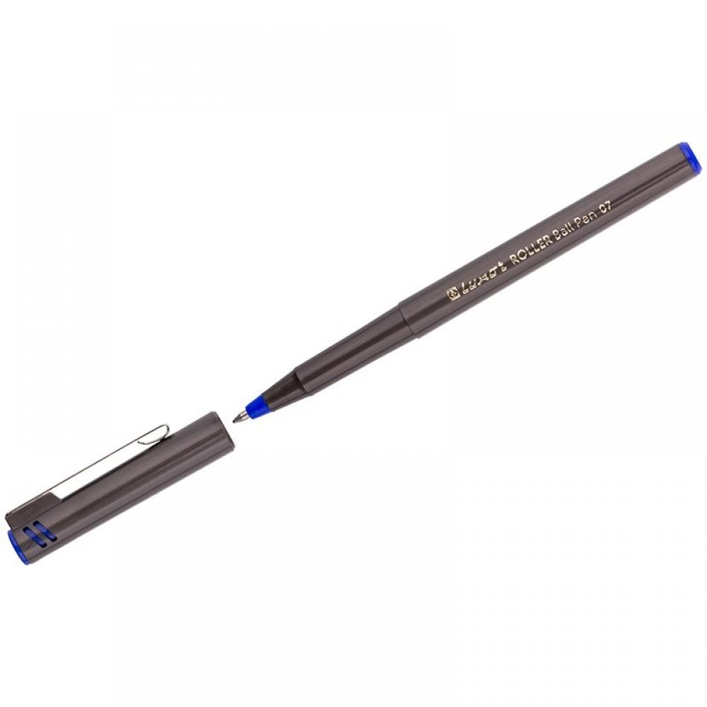 Ручка-роллер Luxor синяя, 0,7 мм, одноразовая