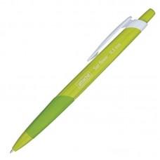 Ручка шариковая автоматическая Attache Sun Flower, линия 0,5мм, зелёный корпус, синяя