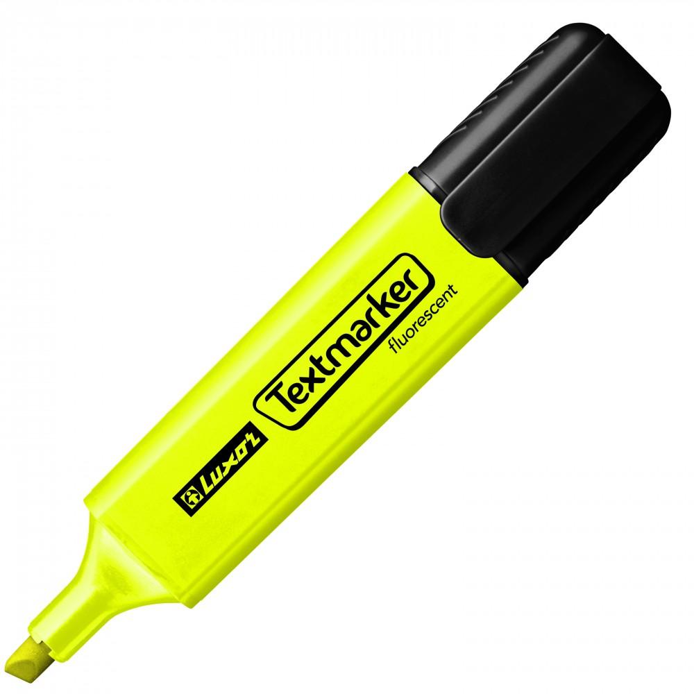 Текстовыделитель LUXOR желтый 1-4,5 мм