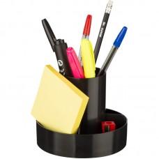 Настольный органайзер Attache Economy ОПТИМА, 10 предметов, чёрный
